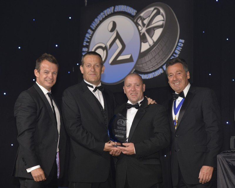 Merityre Sunbury reacts to Tyre Retail Centre of the Year NTDA Award
