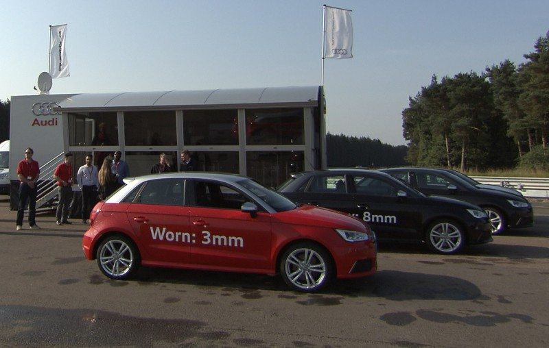 Micheldever supports Audi at MIRA tyre event