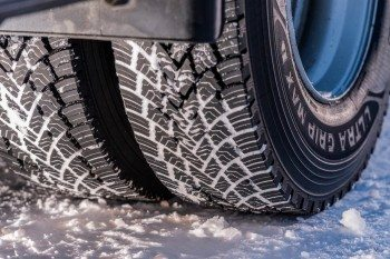 The new Ultra Grip Max winter truck tyre range is said to provide up to 40 per cent more grip when half worn and up to 15 per cent more mileage