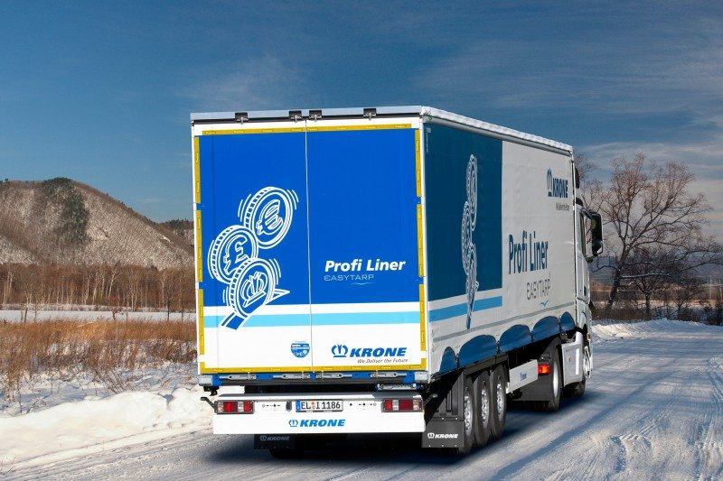 Krone opts for Goodyear Ultra Grip Max T winter tyre as OE