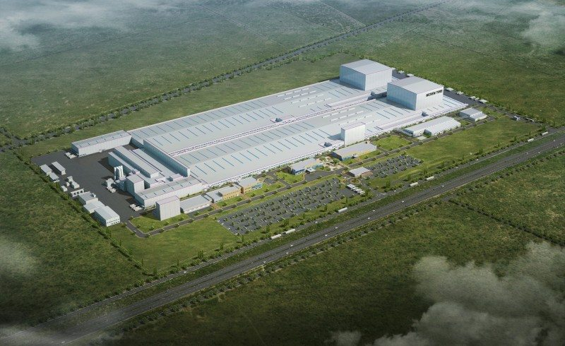Nexen is investing more than 829 million euros in building the new plant on 650,000 square metres of land in Zatec