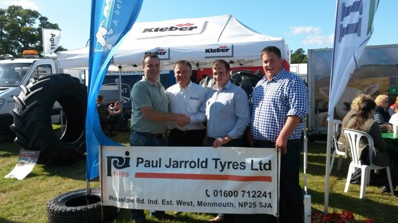 Monmouth tyre dealer a regular supporter of local young farmers