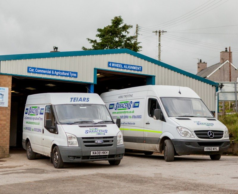 Saracens Tyres first to join Michelin Exelagri farm tyre partnership in North Wales