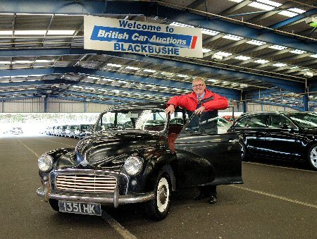 Car for sale – two careful owners since 1957