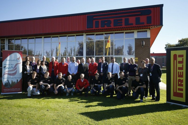 Pirelli supports apprenticeship charter