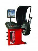 SmartWeight is an integral element of the Hunter GSP9200 wheel balancer
