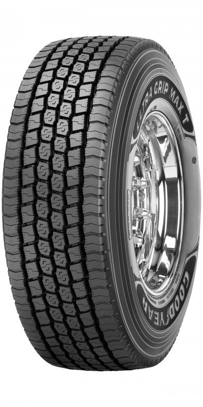 Goodyear's Ultra Grip Max T winter trailer tyre