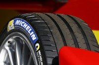 Michelin's Formula E specification Pilot Sport EV tyre contains technologies the manufacturer says are being tested for future road tyres, in part thanks to their dimensions' similarity to existing product