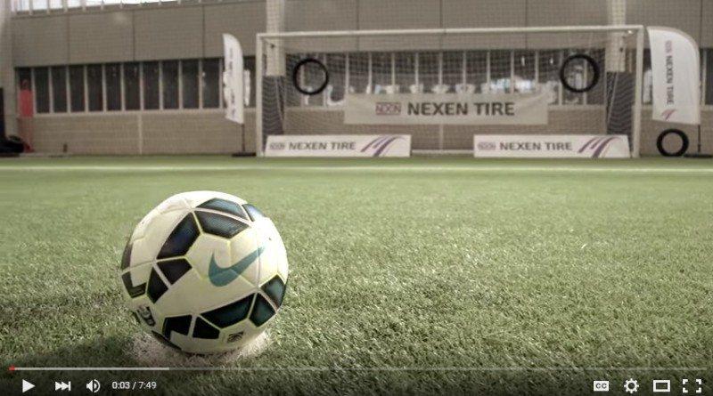 Nexen Tire's inaugural Man City skill challenge