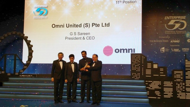 Omni United celebrates Enterprise 50 hat-trick
