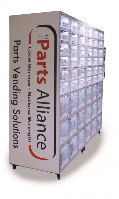 UK first as Autoparts vending machines provided to AA by The Parts Alliance