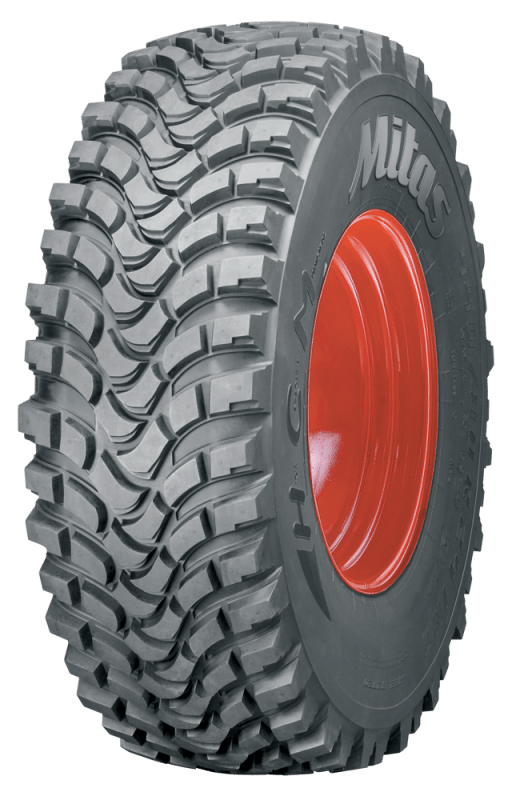 Mitas to unveil municipal tyres with cascade tread lugs at Agritechnica