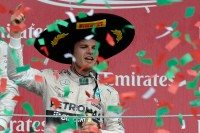 Rosberg wins Mexican GP from pole