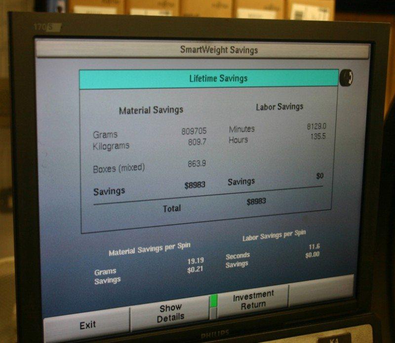 SmartWeight helping garages make wheel balancing savings