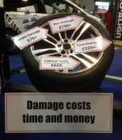 Pro-Align estimates damage costs from a botched tyre change can top £1,000