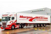 Michelin supplying Effitires solution to Morgan McLernon fleet