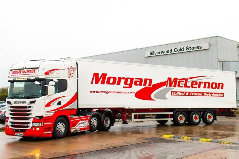 Michelin supplying Effitires solution to Morgan McLernon fleet