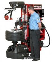 Updated Revolution tyre changer features smaller footprint, expanded capabilities