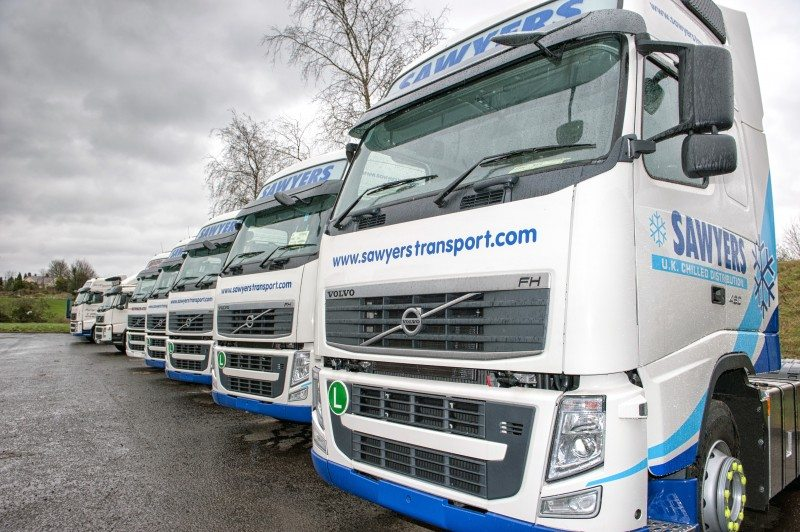 Sawyers Transport signs Michelin solutions Effitires tyre management contract