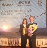 Trelleborg receive double awards from AGCO