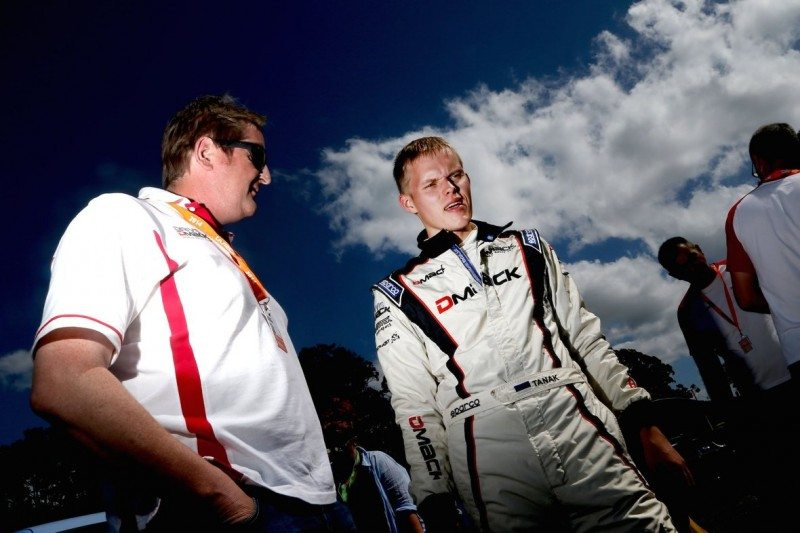 Dick Cormack (left) believes Tänak and M-Sport are the perfect combination for his WRC tyre development