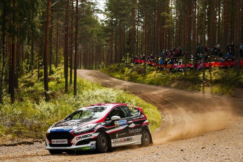 Dmack partners Junior British Rally Championship