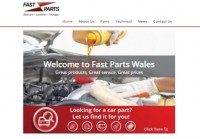 New website for Fast Parts Wales