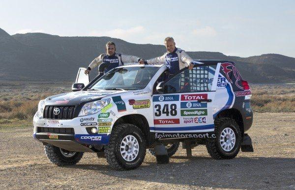 Foj Motorsport - 2016 Dakar Rally