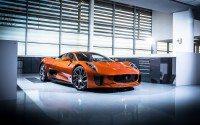"""James Bond """"SPECTRE"""" car showing at Autosport 2016"""