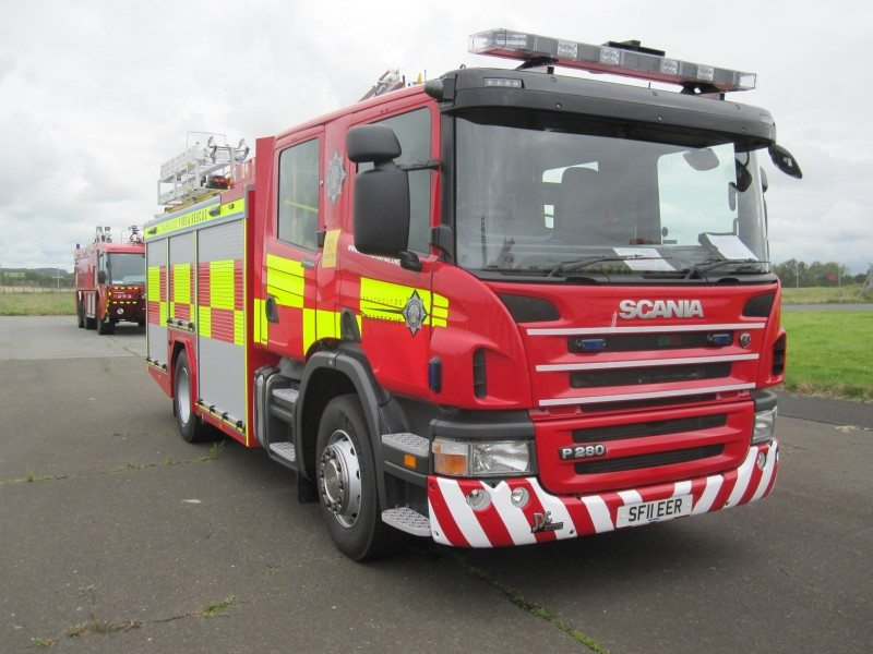 Michelin almost doubles tyre life for Scottish Fire & Rescue