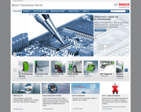 Bosch revamps parts and workshop websites