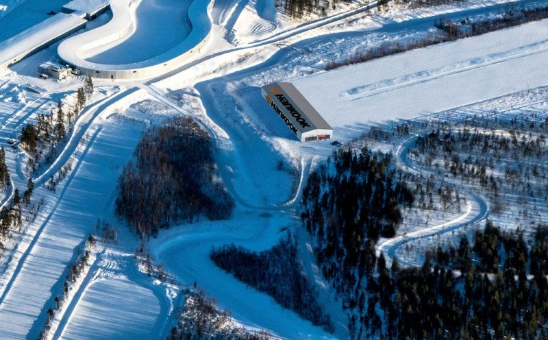 Hankook building winter tyre proving ground in Finland