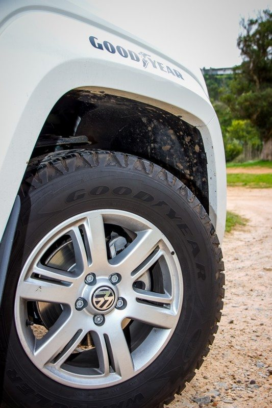 Goodyear Wranglers fitted to anti-poaching vehicles