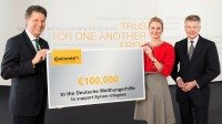 Continental donates to help Syrian refugees