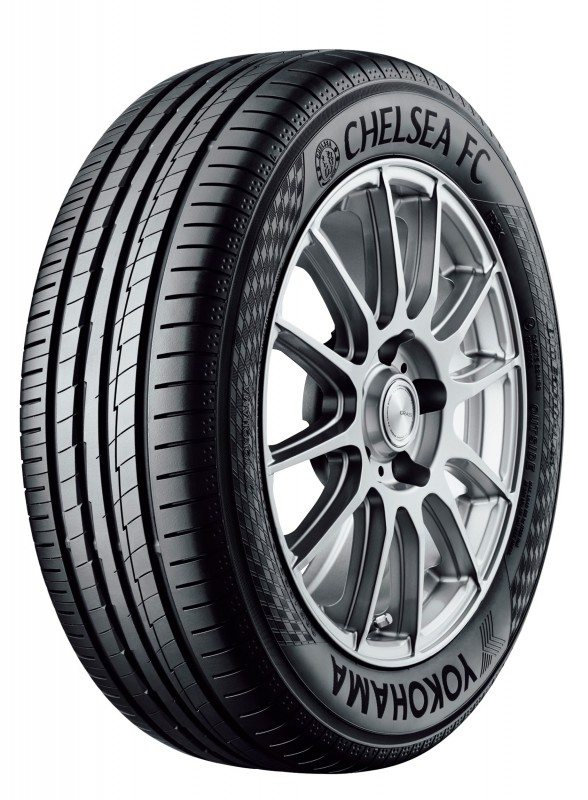 Yokohama previewing Chelsea FC tyre at Autosport International