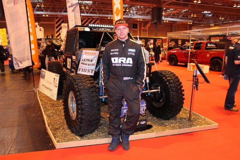 Maxxis announces sponsorship deal with Rob Butler of Off-Road Armoury