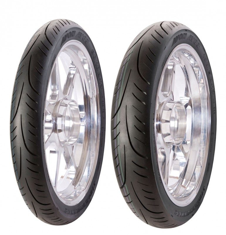 Avon launches StreetRunner tyre for small-capacity motorcycles