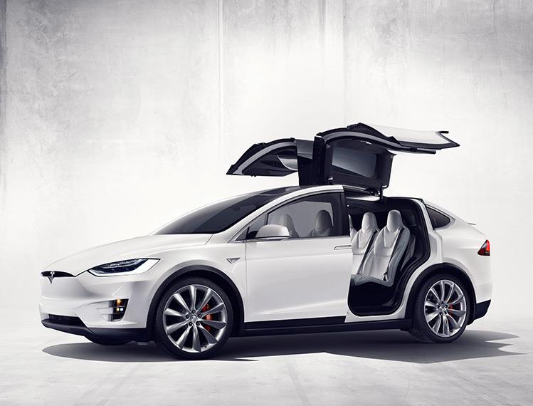 Pirelli tyres OE on Tesla Model X