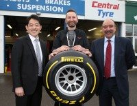 Central Tyre branch wins Pirelli Performance Centre of the year