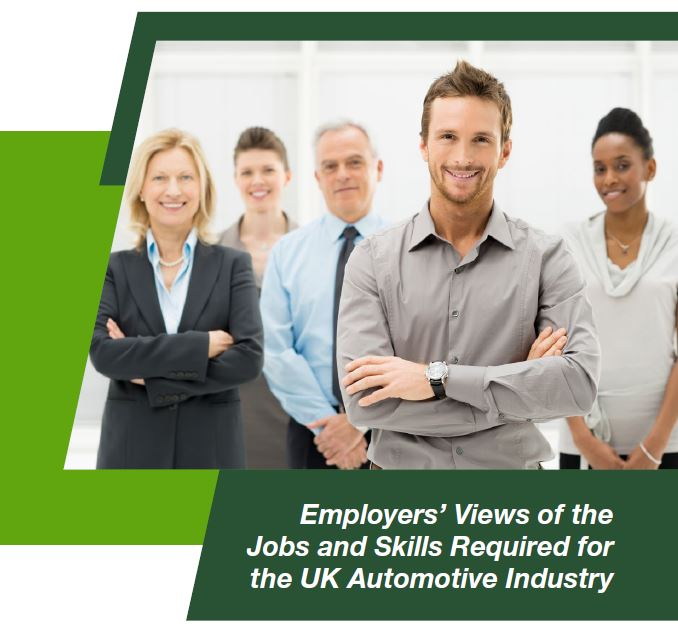 Up to 5000 automotive job vacancies in the UK