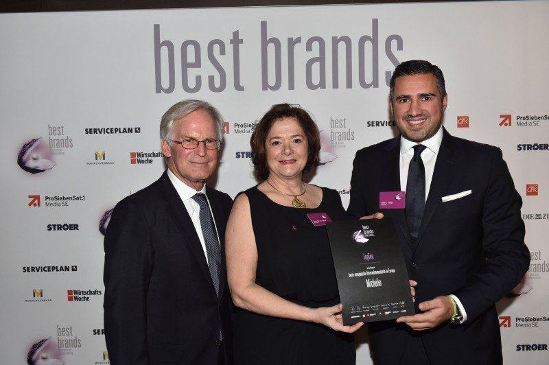 Michelin declared top 10 European brand in Best Brands study