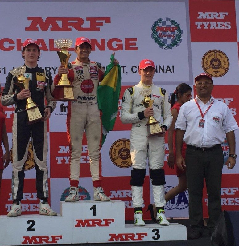 Is MRF Challenge Chennai podium a sign of Indian motorsport global dawn?