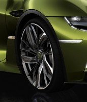 DS E-Tense rolls into Geneva on bespoke Michelin concept tyres