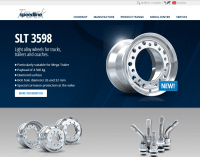 New Speedline Truck website