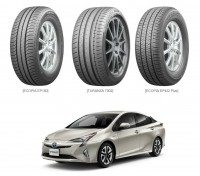 Bridgestone inside and out on Toyota's new Prius