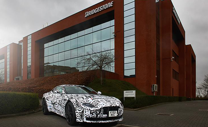 Bridgestone partners Aston Martin on DB11 project