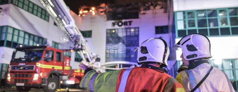 Electrical appliance behind Goodyear Dunlop fire