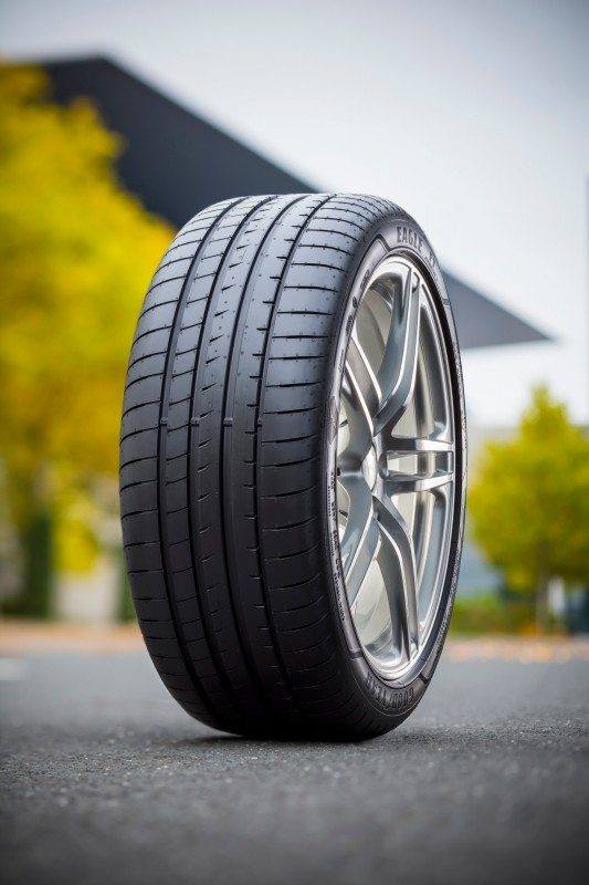 Goodyear's new Eagle F1 Asymmetric 3 boasts strong improvements in mileage and braking