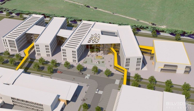 Goodyear announced that part of its partnership with the Automotive Campus project means moving all its local non-manufacturing personnel onto the new site