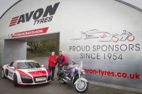 Avon Tyres revamps Castle Combe bridge, marking 60th anniversary of sponsorship